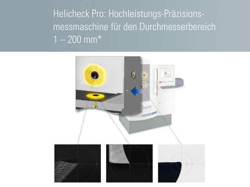 CNC Messmaschine - Walter Helicheck Plus 3